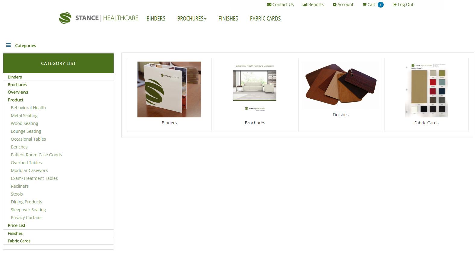 Online Company Store Custom Development Sidebar