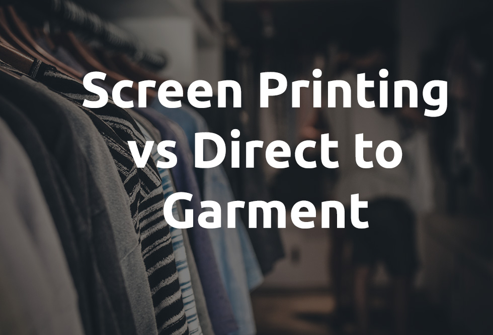 difference between screen printing and dtg