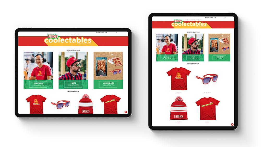 ellios pizza online company stores