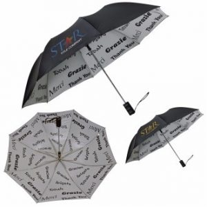 branded thank you umbrella