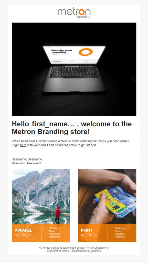 Email Template #1 1