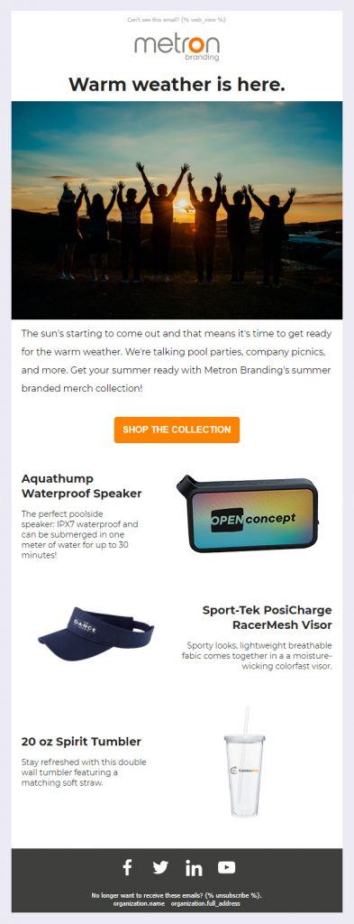 Email Template #2 1