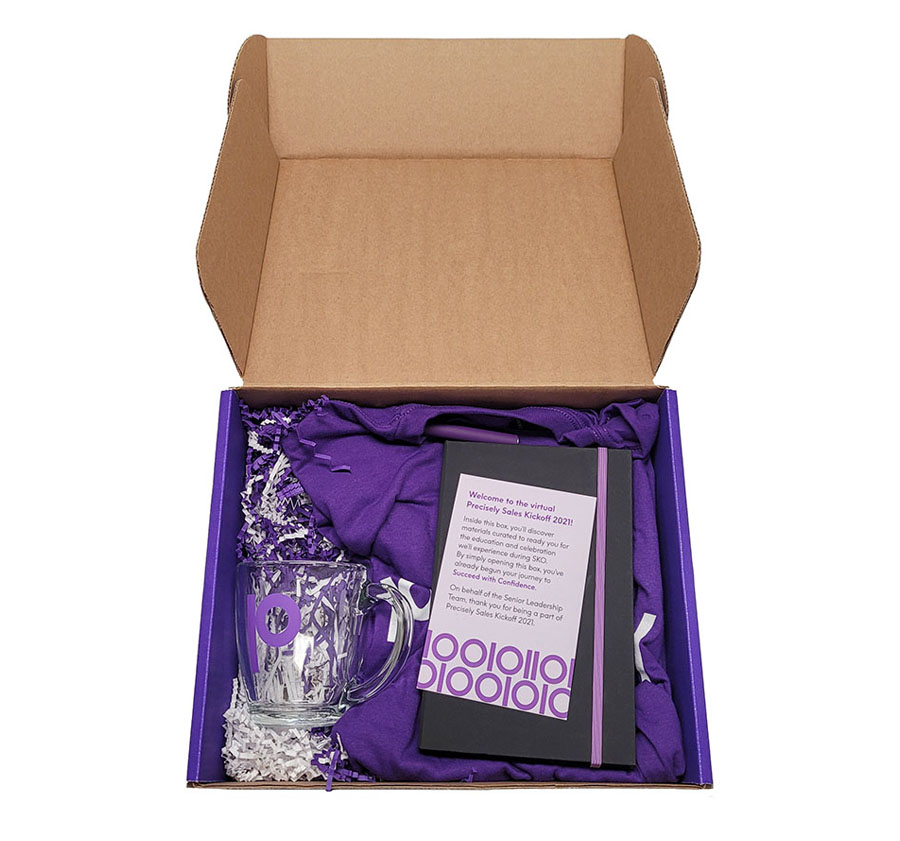Branded Gift Boxes for Employee Meetings