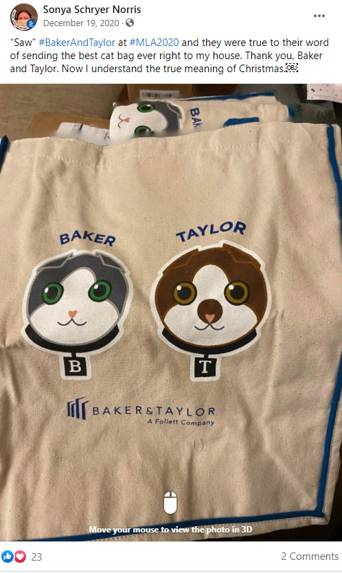 Best Swag Useful Promotional Items - Baker and Taylor